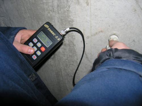 opredelenie prochnosti betona metodom udarnogo impulsa