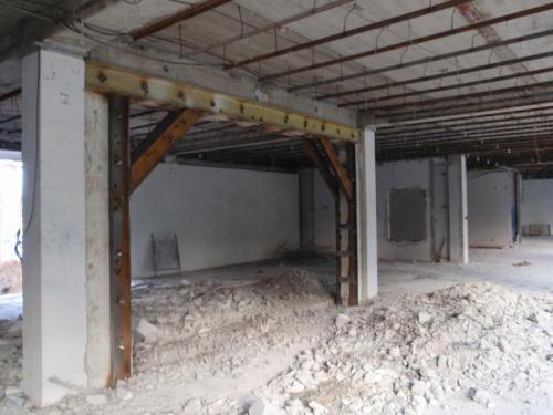 usilenie nesushchih konstrukciy sten zdaniy ukreplenie proemov i izgotovlenie lestnic iz metalla 4